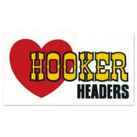 ホットロッド ステッカー  HOOKER HEADERS ステッカー