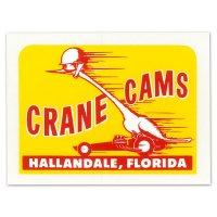 ホットロッド ステッカー    CRANE CAMS ステッカー