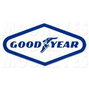 画像1: GOOD YEAR ステッカー