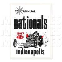 ホットロッド 1967 NHRA INDIANAPOLIS NATIONALS ステッカー