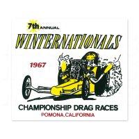 ホットロッド ステッカー 1967 NHRA WINTER NATIONALS ステッカー