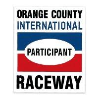 HOT ROD ノスタルジック ステッカー Orange County Raceway Participant デカール