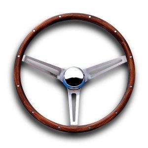 画像1: Grant Classic GM Model Wood Steering Wheel 37cm