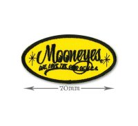MOONEYES Oval Logo パッチ S