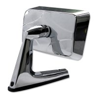 Chrome Door Mirror Square