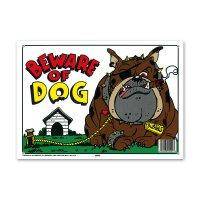 BEWARE of DOG (イヌに注意)