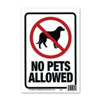 NO PETS ALLOWED (ペット不可)