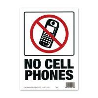 NO CELL PHONES (携帯電話禁止)