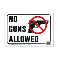 NO GUNS ALLOWED (銃禁止)