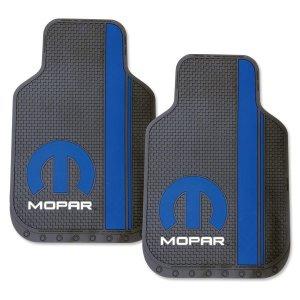 画像1: MOPAR ロゴ フロア マット