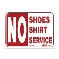 靴とシャツ未着用の方にはサービスしません
