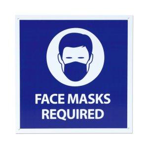 画像2: Face Masks Required サイン (フェイス マスク 必須)
