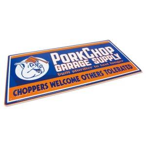 画像2: PORKCHOP Choppers メタルサイン