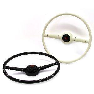 """画像1: 40s Style Steering Wheel  16"""""""