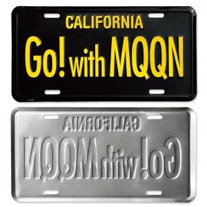 画像2: MOONEYES カリフォルニア ライセンス プレート Go! with MQQN