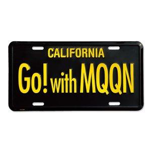 画像1: MOONEYES カリフォルニア ライセンス プレート Go! with MQQN