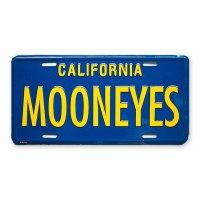 MOONEYES カリフォルニア ライセンス プレート ブルー