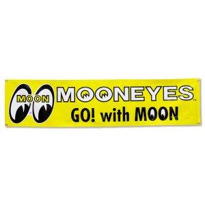 画像1: MOONEYES ビニール バナー