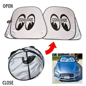 画像1: MOON Car Sun Shade  Lサイズ
