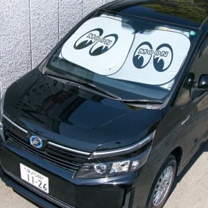 画像2: MOON Car Sun Shade  Lサイズ