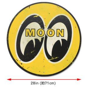 画像2: MOON スチール サイン ラージ & ディストレスト