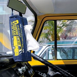 画像1: MOON Bus デニム ティッシュ カバー