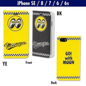 画像1: MOONEYES iPhone SE【2020】, iPhone8, iPhone7 & iPhone6/6s フリップ ケース