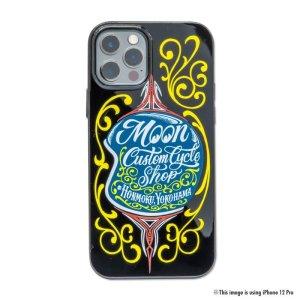 画像3: MOON Custom Cycle Shop ヘルメット iPhone 12, 12 Pro ハード ケース