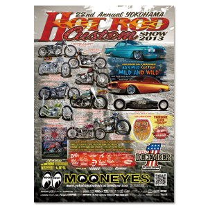 画像1: 22nd Annual YOKOHAMA HOT ROD CUSTOM SHOW 2013 ポスター