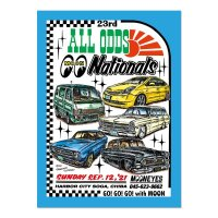 23rd ALL ODDS Nationals 2021 ポスター