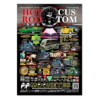 26th Annual YOKOHAMA HOT ROD CUSTOM SHOW 2017 ポスター