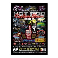 28th Annual YOKOHAMA HOT ROD CUSTOM SHOW ポスター
