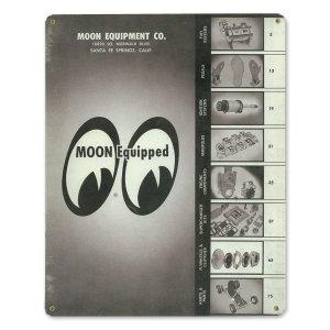 画像1: MOON ビンテージ サイン プレート 1960年 Front Cover