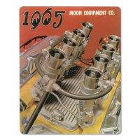 MOON ビンテージ サイン プレート 1965年 Front Cover