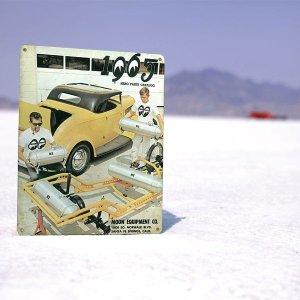 画像2: MOON ビンテージ サイン プレート 1965年 Back Cover