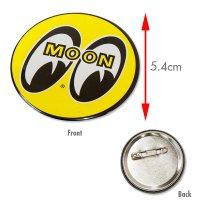 MOON  カン バッジ 5.4cm