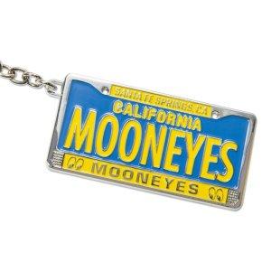 画像4: MOON CA Legacy ライセンス プレート メタル  キーリング