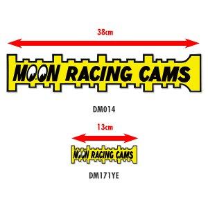 画像2: MOON Racing Cams ステッカー