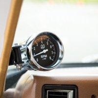 MOON Mini Tachometer Black 8000rpm