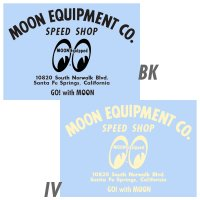 MOON EQUIPMENT SPEED SHOP デカール