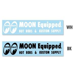 画像1: MOON Equipped ロゴ ステッカー