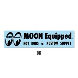 画像2: MOON Equipped ロゴ ステッカー