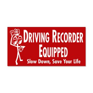 画像2: Driving Recorder Equipped ステッカー