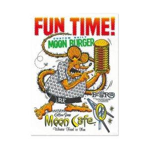 画像2: Rat Fink x MOON Cafe ステッカー