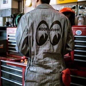 画像1: MOON Equipped カバーオール FS (長袖)