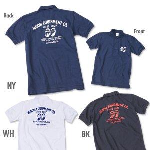 画像2: MOON Equipped Speed Shop ポロシャツ