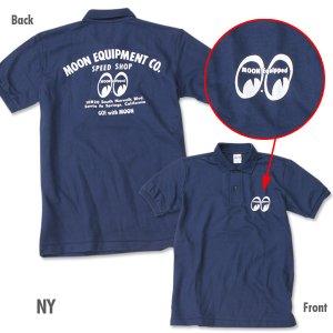 画像3: MOON Equipped Speed Shop ポロシャツ
