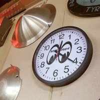 """MOON Equipped Giant Wall Clock 16"""""""