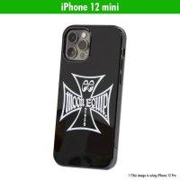 MOON Equipped Iron Cross iPhone 12 mini ハード ケース