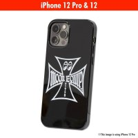 MOON Equipped Iron Cross iPhone 12, 12 Pro ハード ケース